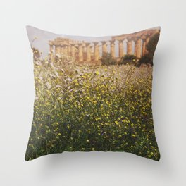 Can you feel it? Throw Pillow