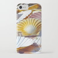 shells iPhone & iPod Cases featuring Shells by jacqi