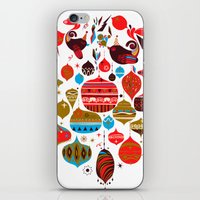xmas iPhone & iPod Skins featuring xmas by echo3005
