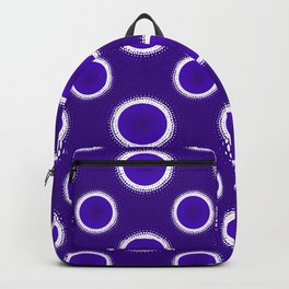 Indigo Eclipse Rings Backpack