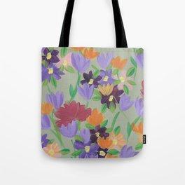 Wallflowers II Tote Bag