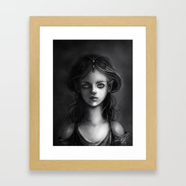 The Elf Princess Framed Art Print