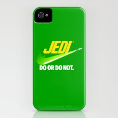 Brand Wars: Jedi - green lightsaber iPhone (4, 4s) Slim Case