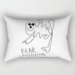Fear Nothing Rectangular Pillow