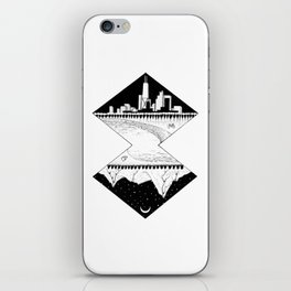 City by the Mountains iPhone Skin