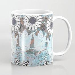 Florals in Neutral Coffee Mug