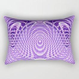 Purple Bawl Rectangular Pillow