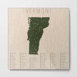 Vermont Parks Metal Print