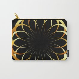 A decorative Celtic fractal flower like a mandala Carry-All Pouch