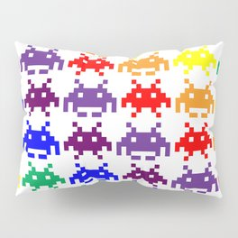 Rainbow Invasion Pillow Sham