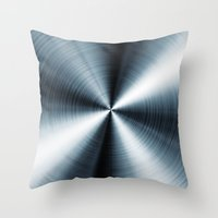 cycle Throw Pillows featuring Cycle  by Daniac Design