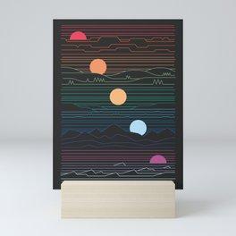 Many Lands Under One Sun Mini Art Print