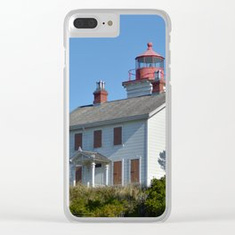 Yaquina Bay Lighthouse Clear iPhone Case