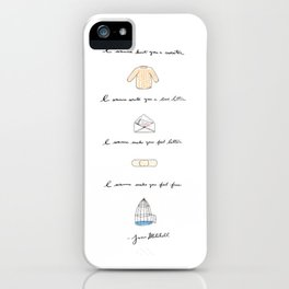 All I Want iPhone Case