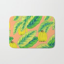 Banana Jungle - Peach Bath Mat