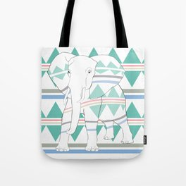 Do I Blend In? #elephant Tote Bag