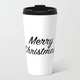 Merry Christmas! - Holiday Illustration Travel Mug