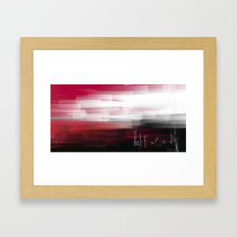 Light at end Framed Art Print