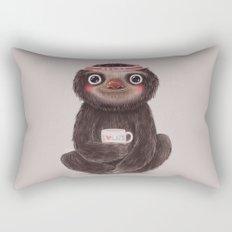 Sloth I♥lazy Rectangular Pillow