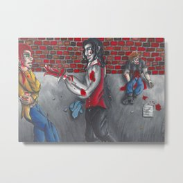 Saved by a vampire Metal Print