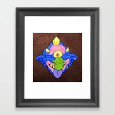 my pet madball Framed Art Print
