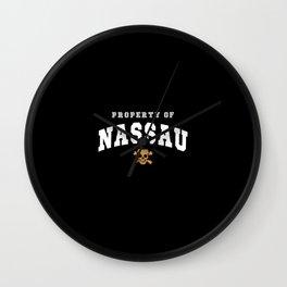 Nassau Wall Clock