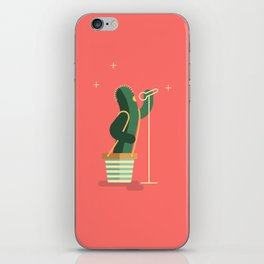 CACTUS BAND / The Singer iPhone Skin