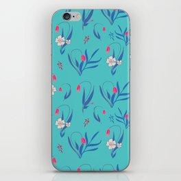 Petite Summer Turqoise iPhone Skin