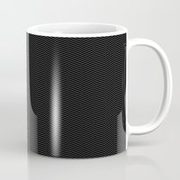 herringbone Mugs featuring Herringbone by SamAnne