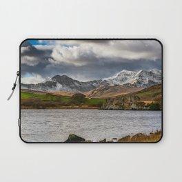 Snowdon Winter Landscape Laptop Sleeve