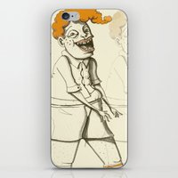ginger iPhone & iPod Skins featuring Ginger by Seth Duhy