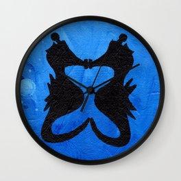 Seahorse Smoochies Wall Clock