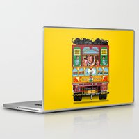 truck Laptop & iPad Skins featuring TRUCK ART by urvi