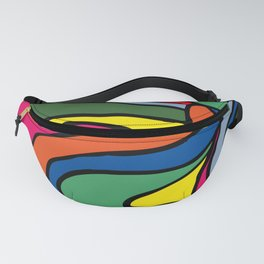abstract painting Fanny Pack