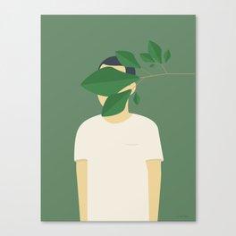 EN SMUK DAG I SKOVEN Canvas Print