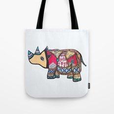 Fleur de Rhino Tote Bag