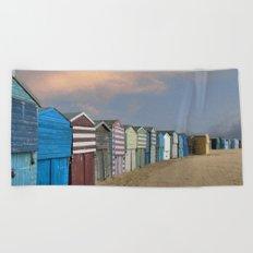 Beach Huts in Broadstairs Beach Towel