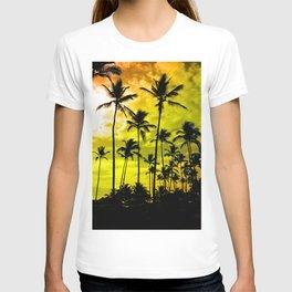 Black Palm Trees T-shirt