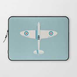Supermarine Spitfire WWII fighter aircraft - Sky Laptop Sleeve