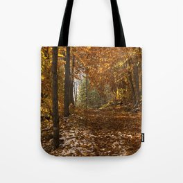 Fall Canada Tote Bag
