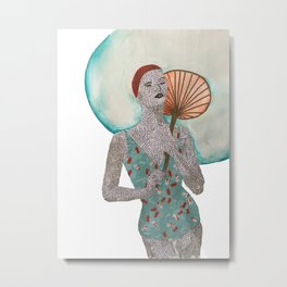 Swim in style Metal Print