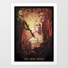I enjoy dynamite, gunpowder and gasoline Art Print
