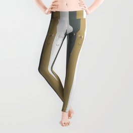 Triple Horses Leggings