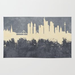 Frankfurt Germany Skyline Rug