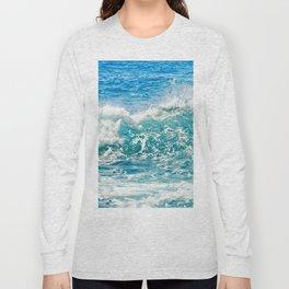 Kashmir Blue Sapphire Long Sleeve T-shirt
