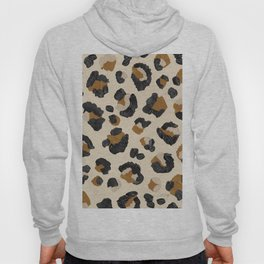 Leopard Print – Neutral Gold Light Palette Hoody