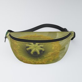 Yellow Cosmo Fanny Pack