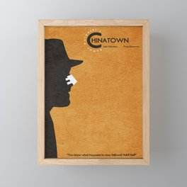 Chinatown Framed Mini Art Print