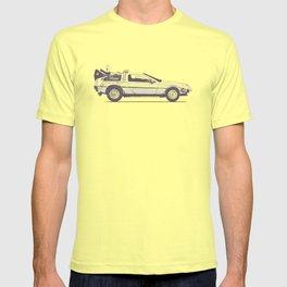 Famous Car #2 - Delorean T-shirt