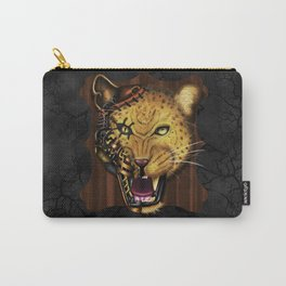 Mechanical Monsters revisited: Leopard  Carry-All Pouch